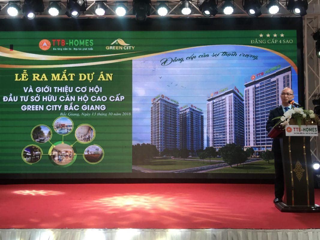 Lễ ra mắt dự án Green City thu hút đông đảo sự chú ý của các Đối tác, khách hàng